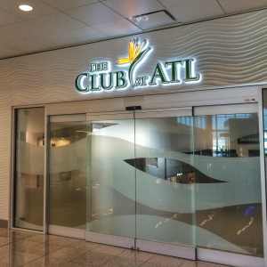 The Club at ATL Entrance