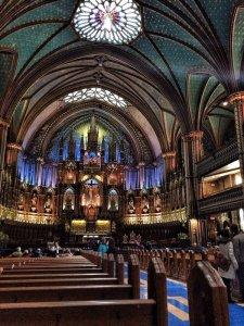 Basilica Notre Dame - Montreal