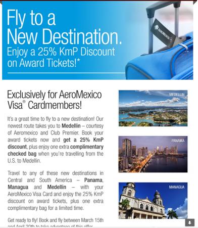 aeromexico kmp discount