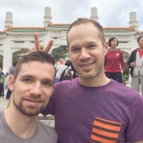 Taipei fun with Chris!